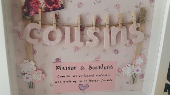 Basket Weaving Nuneaton : Cousin keepsake frame from thecraftyowlcompany on etsy studio