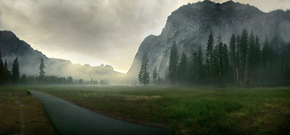 yosemite national park fog - photo #39