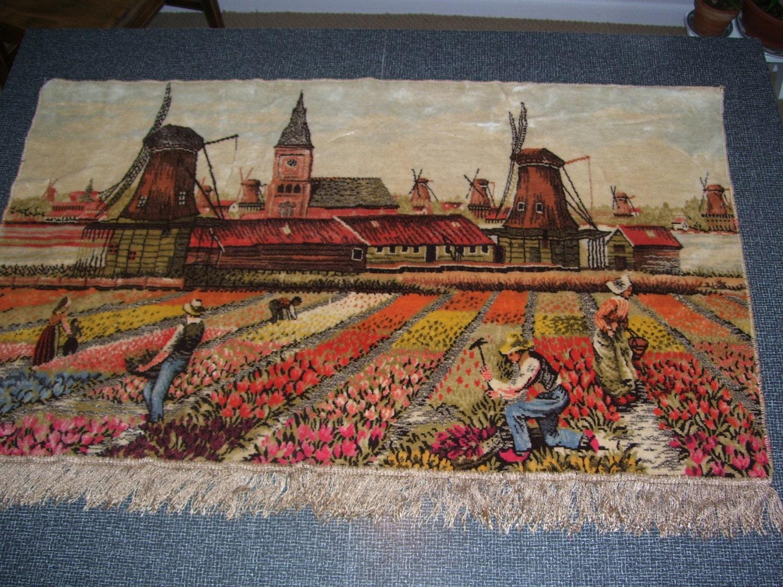 Dutch Tapestry Netherlands Tapestry Vintage