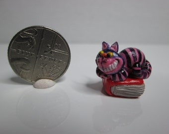 OOAK miniature cheshire cat