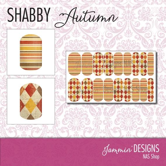 Shabby Autumn NAS (Nail Art Studio) Design