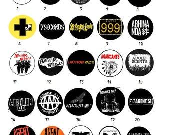 DIY Punk, Metal, Ska, Political, Rock PINS