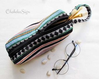 Pencil Case, Zipper Pouch, Small Cosmetic Bag.