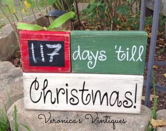 BOGO sale! Christmas countdown, Christmas chalkboard, chalkboard countdown