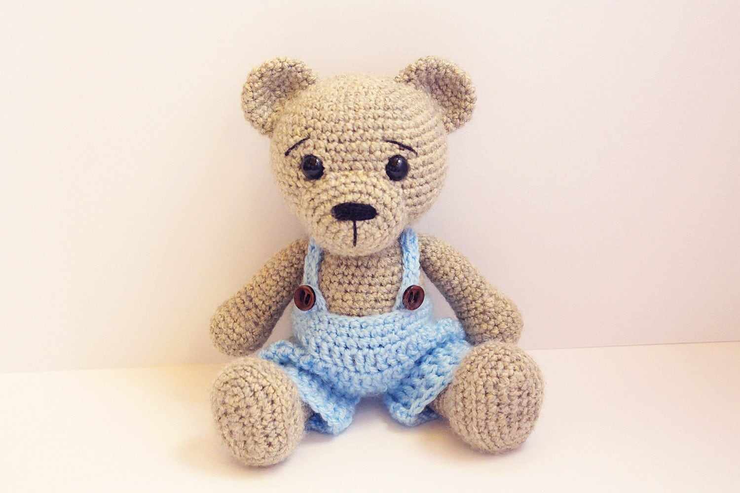 Amigurumi Crochet Teddy Bear Patterns : PATTERN : Bear-teddy Amigurumi bear pattern-Bear Classic