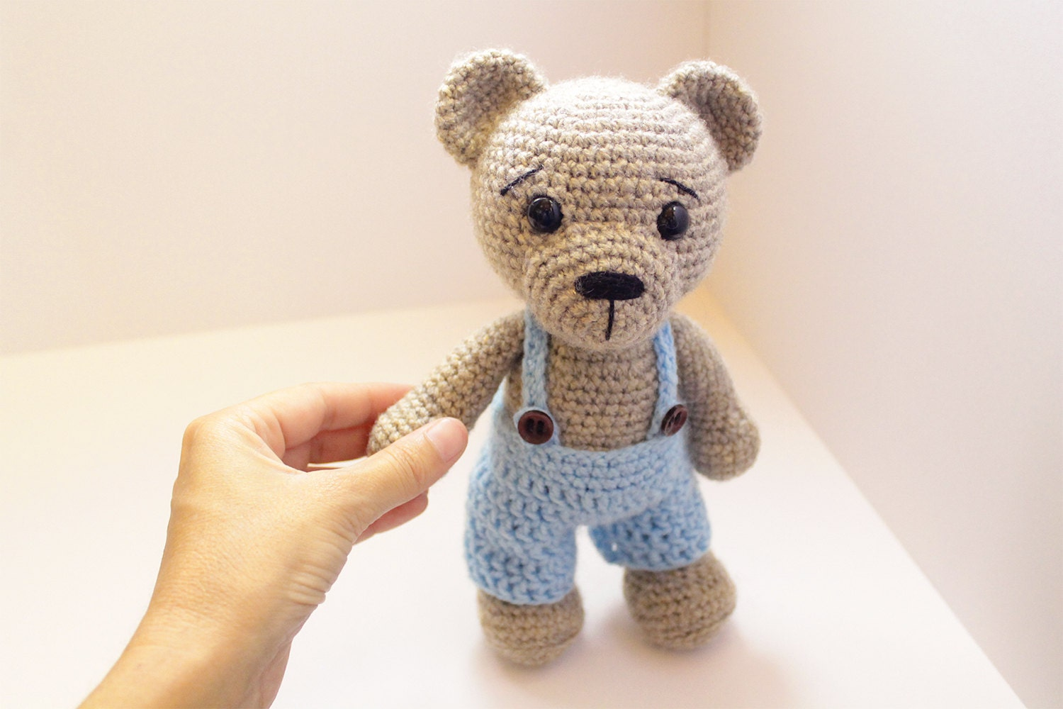 Classic Teddy Bear Crochet Pattern Free