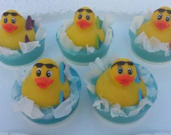 Ducky Soap, Rubber Duck Soap, Party Favor