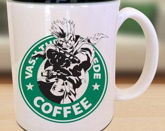 Vash X Trigun X Starbucks Anime Manga Geek Nerd Inspired Mug s