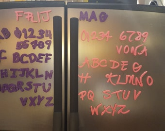 Frijmags - Custom refrigerator magnets in your own handwriting