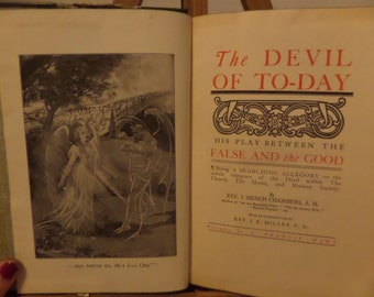 The Devil of To Day by Rev. I. Mench Chambers 1906