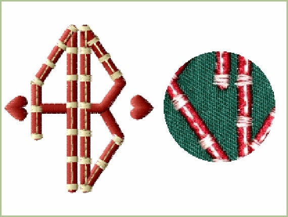 Fancy duet monograms machine embroidery designs all