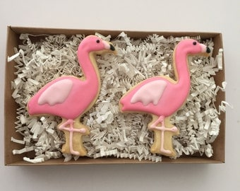 Flamingo Cookies