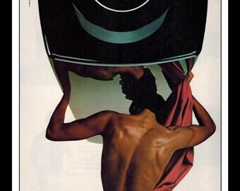 "Vintage Print Ad December 1982 : Chanel Antaeus CC Perfume Wall Art Decor 8.5"" x 11"" Advertisement"