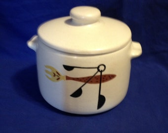 West Bend Mid Century Bean Pot SALE 9.00