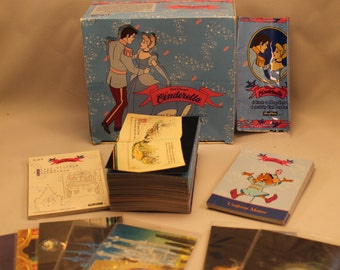 Walt Disney, Cinderella Trading Card Full Set of 90 Cards, Plus Many Extras 1995 SkyBox Gift
