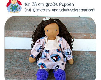 E-Book: make Waldorfpuppe themselves (38 cm doll)