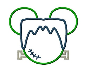 Character Inspired Mister Mouse FrankeNstein Embroidery Applique Design