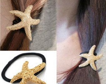 3 Starfish Hair Tie Set