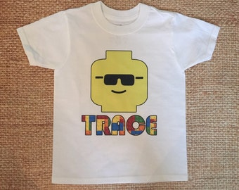 Personalized Lego Shirt