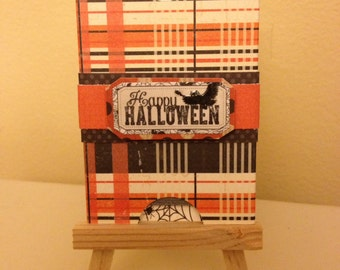 Halloween Note Card Tag