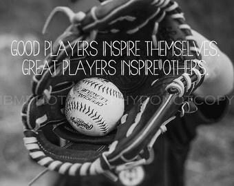 Baseball Print - Inspire Others Fine Art Photography Baseball Print