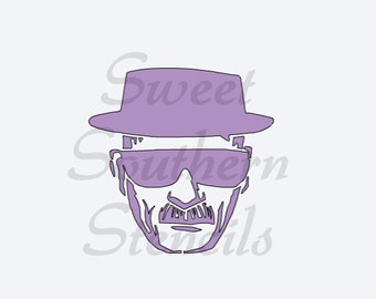 Heisenberg and BB Logo Stencils (2 separate stencils)
