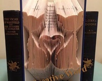 Cat Book Folding Pattern