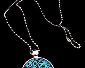 Silver Tree of Life Woodland Necklace