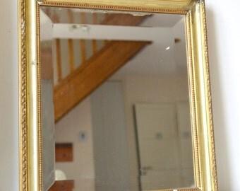 Wooden, rectangular, 44 cm, miror mirror