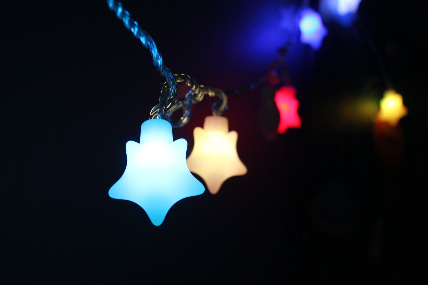 String Of Led Star Lights : Twinkle Star LED String Party Light Star light Wedding