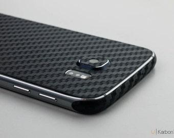 UKarbon   Samsung S6 Carbon Fibre Skin (3M Material)