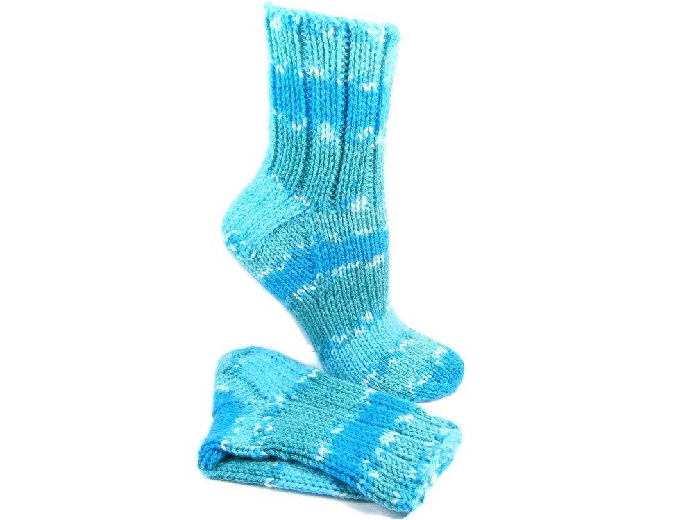 Socks Hand Knit Sleeping Socks Knitted Casual Sock by PEIsocks