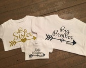 Personalized Set of 3 Sibling Shirts