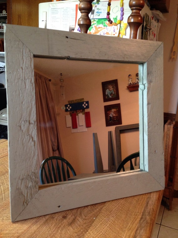 Reclaimed Barn Wood Wall Mirror