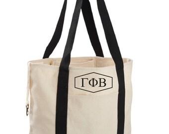 Gamma Phi Beta Canvas Tote Bag