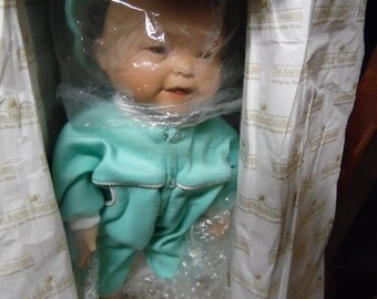 Ashton Drake Baby Green Earth Doll