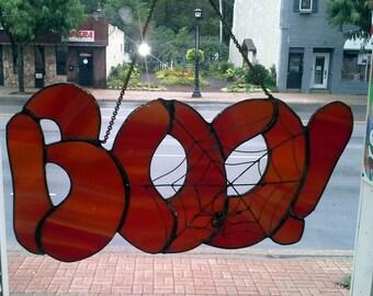 BOO! Sign for fall/autumn/halloween