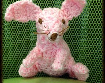 Crochet Stuffed Bunny