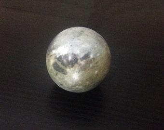 A miniature Ganymede globe