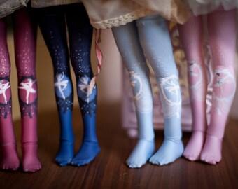 ballerinas bjd stockings MSD / SD / tiny / Blythe