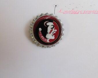 College Football (FSU) Bottle Cap Pin
