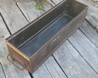 Vintage Drawer, Tool Box, Storage Box, Craft Box, Steampunk, Storage Container, Shop Organizer