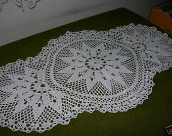 Crochet blanket in the extraordinary form