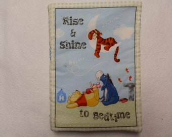 Rise and Shine to Bed Time Cloth Book