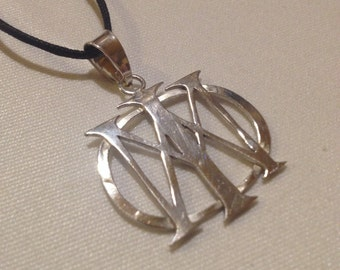 Dream Theater Sterling Silver Necklace