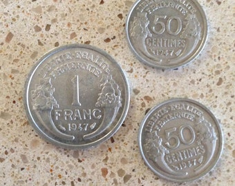 16 Antique Foreign Coins from 1940's