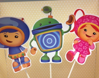Team Umizoomi Party Centerpiece
