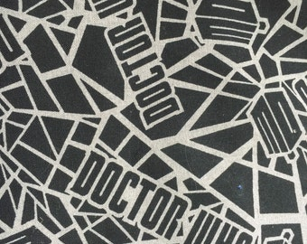 Personalized Minky Dr. Who Baby Blanket