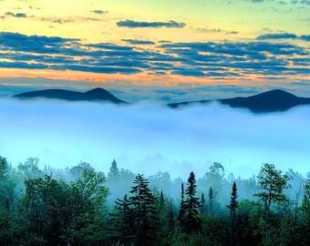 Adirondack Landscape Photograph, Adirondack Mountain Print, Adirondack Fine Art, Nature Photography, Adirondack Decor, Adirondack Prints