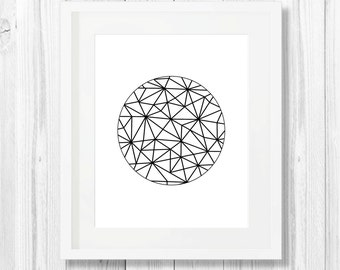 Minimalist Art, Minimalism, Black, Geometry Print, Modern Wall Art, Abstract, Art Print, Printable Art, Downloadable Print, Wall Print